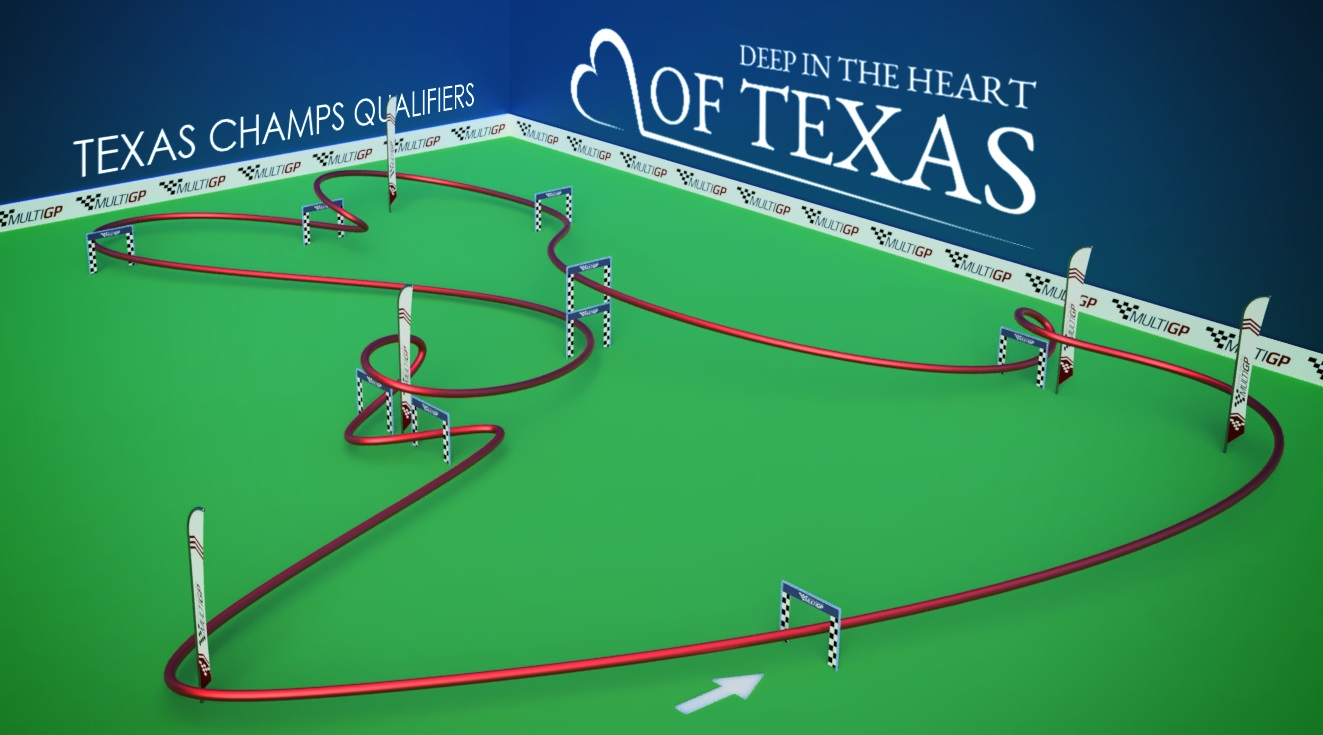 Deep in the Heart of Texas Track 3D view